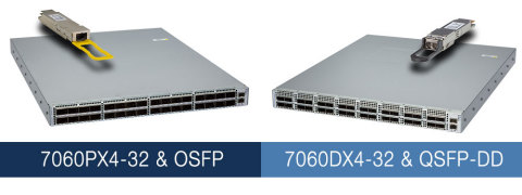 Arista introduces 400G fixed platforms. (Photo: Business Wire)