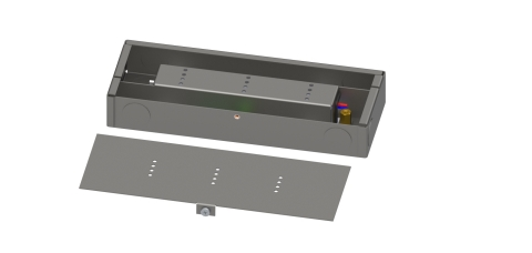 JVLM Series Integrated LED Lighting Power Supply and Junction Box (Photo: Business Wire)