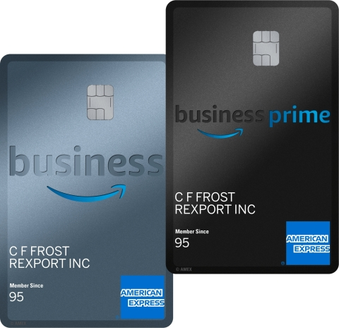 Introducing the Amazon Business American Express Card for Small Businesses in the U.S. (Photo: Busin ...