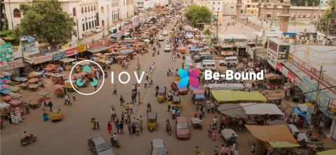 Be-Bound and IOV are committed to reducing global inequality through technology. The partnership between two French companies will bring mobile and blockchain services to communities most in need across the globe. (Photo: Business Wire)