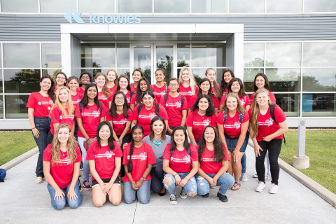 Knowles UIC Student Summer Program 2018 (Photo: Business Wire)
