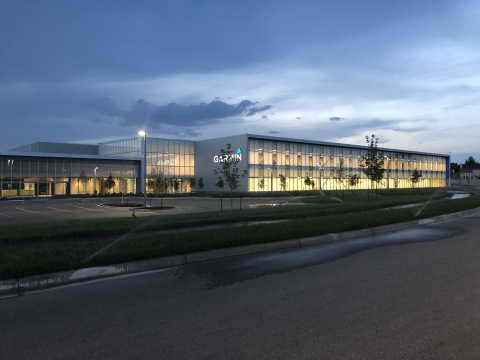 Garmin has opened the doors to its new 750,000-square-foot manufacturing and distribution center that more than doubles the company's aviation product manufacturing and distribution capacity. (Photo: Business Wire)