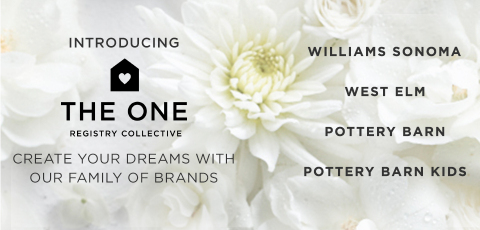 Williams-Sonoma, Inc. Launches The One Registry Collective allowing customers to register for products across the Williams Sonoma, Pottery Barn, West Elm and Pottery Barn Kids brands. (Photo: Business Wire)