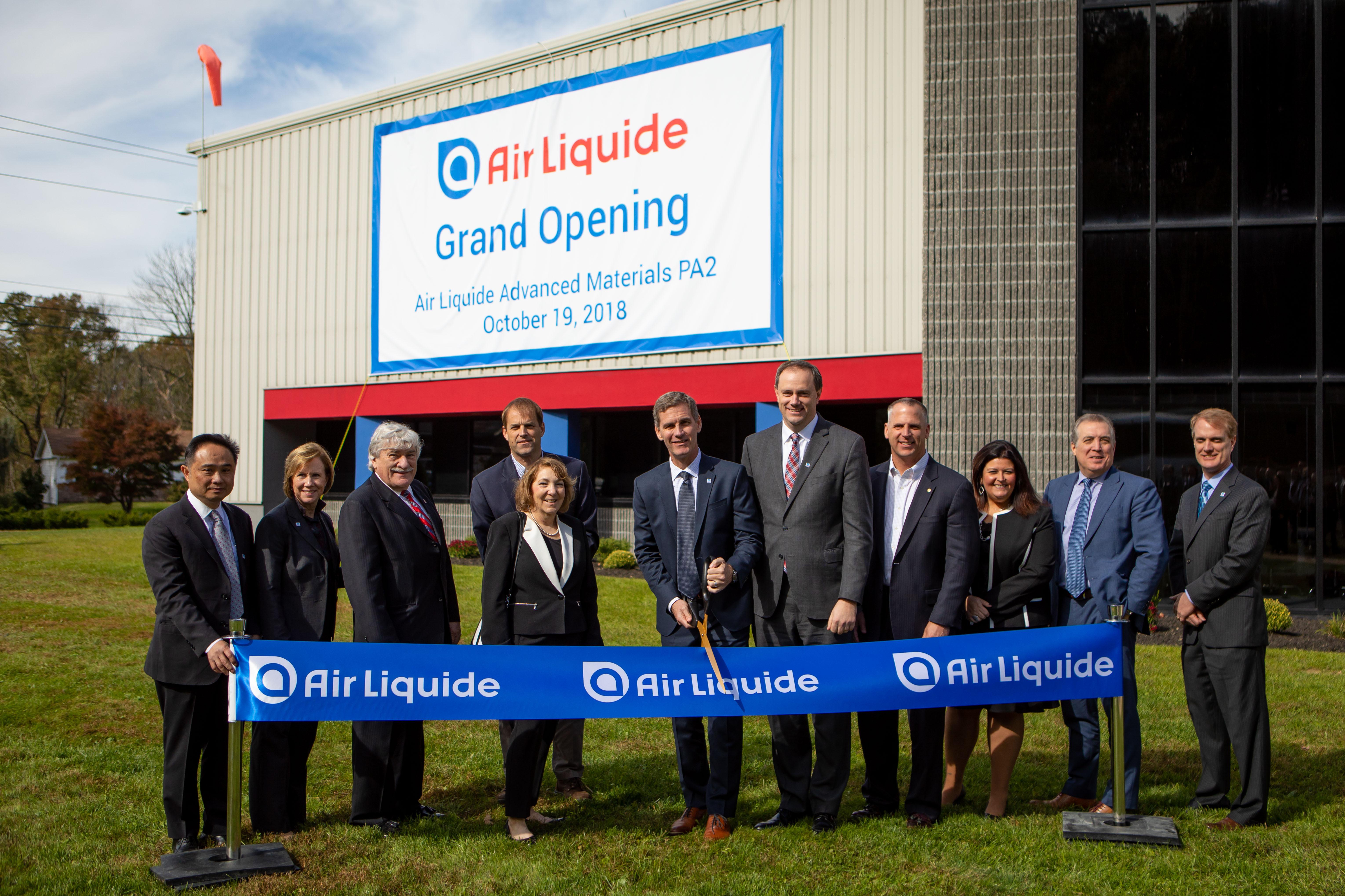 Air Liquide Inaugurates New Advanced Materials Production