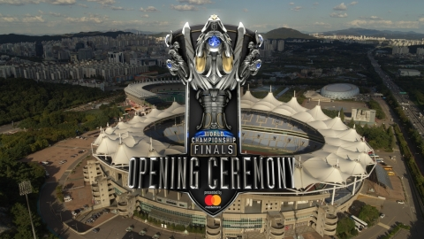 The League of Legends 2018 World Championship Finals Opening Ceremony presented by Mastercard. (Photo: Business Wire)