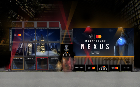 The Mastercard Nexus is a pop-up experience for League of Legends fans attending the World Championship. (Photo: Business Wire)