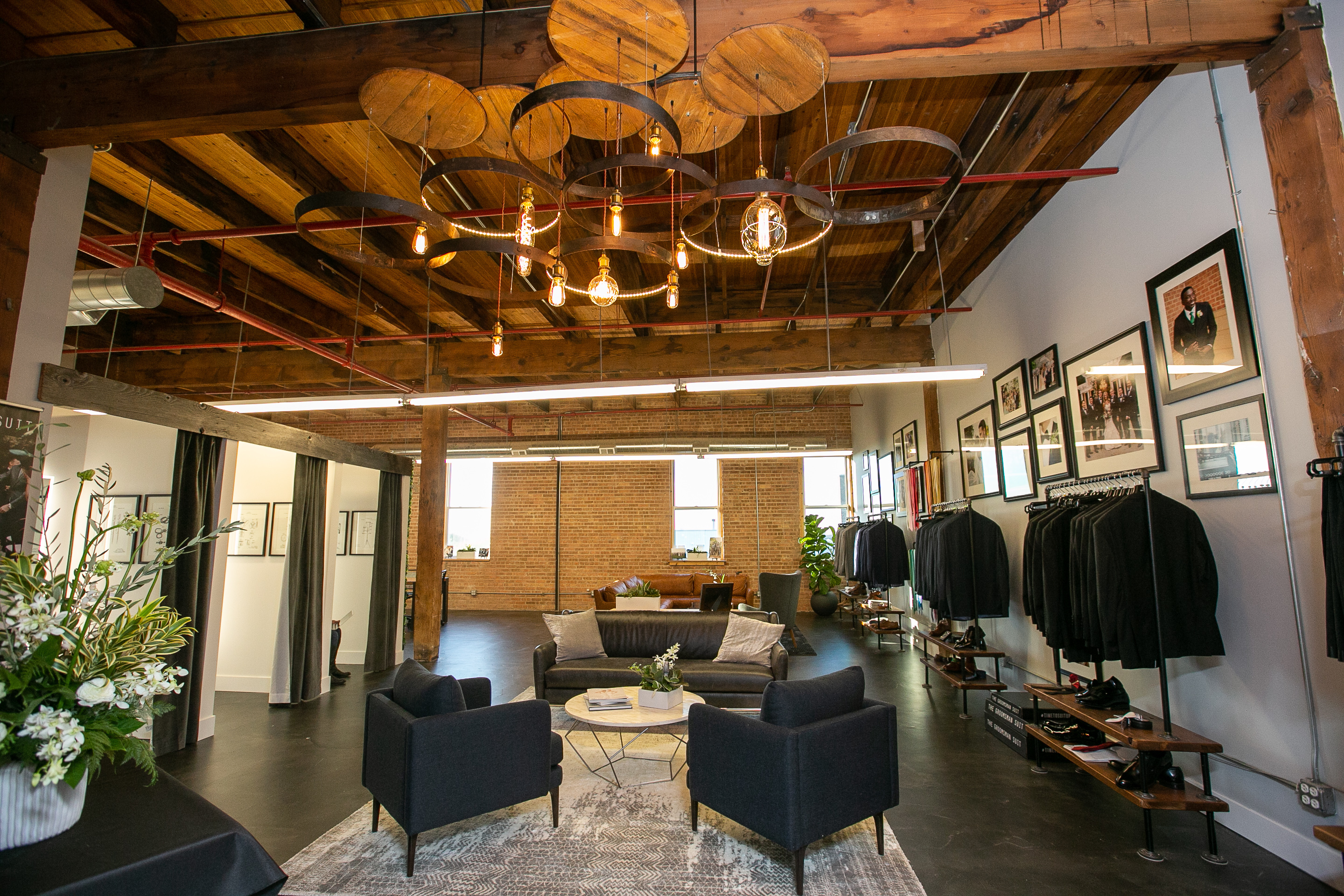 the groomsman suit opens company s first showroom in chicago