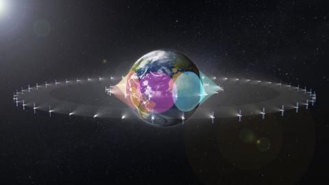 SES fleet includes over 50 satellites in Geostationary Orbit (GEO) and 16 in Medium Earth Orbit (MEO ...