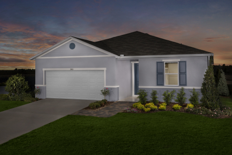 New KB homes now available in Clermont, Florida. (Photo: Business Wire)