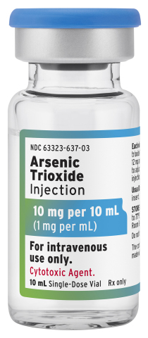 Arsenic Trioxide Injection (a generic of TRISENOX®) is now available from Fresenius Kabi in a 10 mL vial. (Photo: Business Wire)
