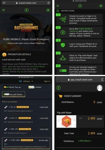 Pubg Uc Razer Gold | Hack Pubg 4t