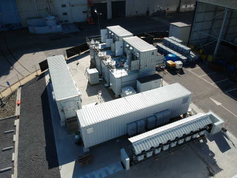 CMI Energy's MiRIS project will be integrated with the CMI Group's headquarters complex to allow its engineers to perform detailed analysis of renewable integration with energy storage (Photo: Business Wire)