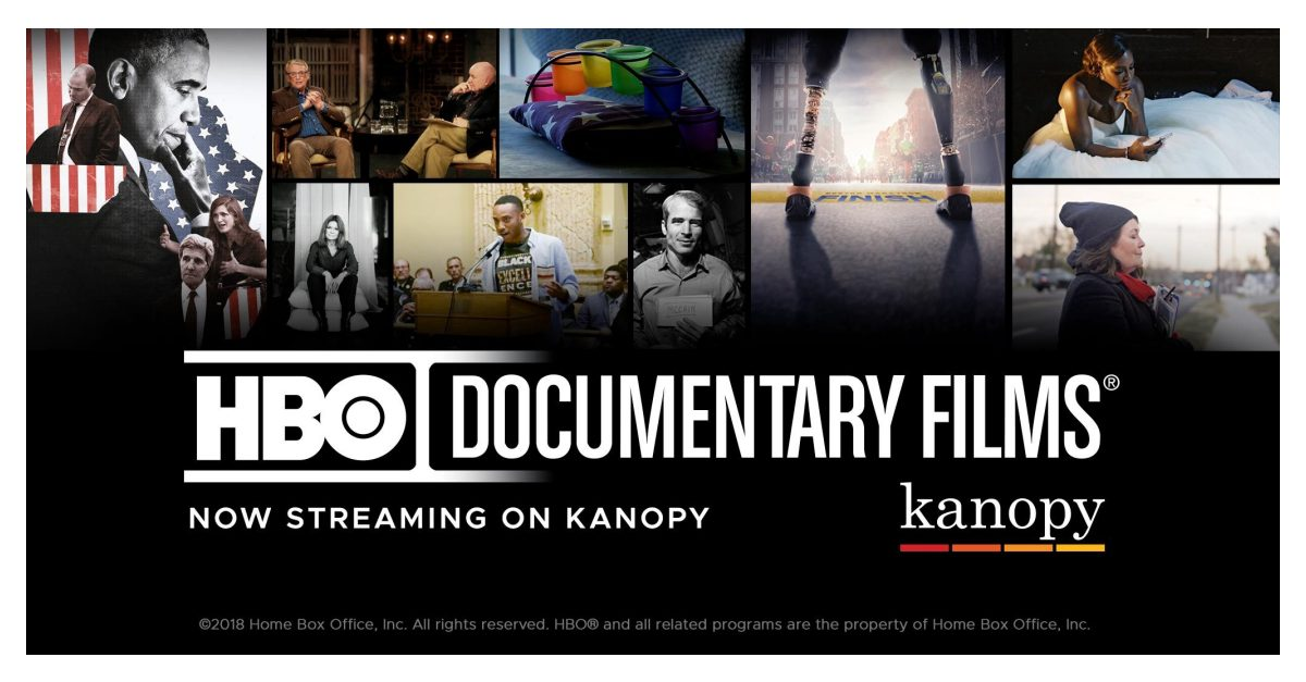 Kanopy Signs Licensing Deal with HBO Documentary Films® | Business Wire