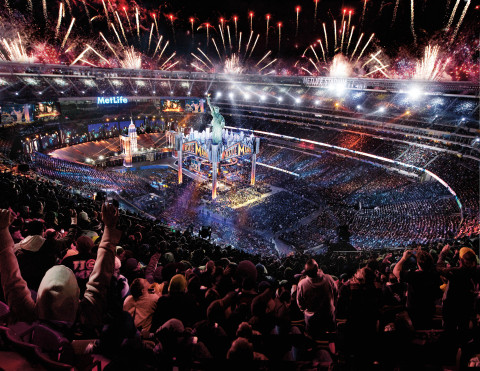 WrestleMania 29 at MetLife Stadium (Photo: Business Wire)