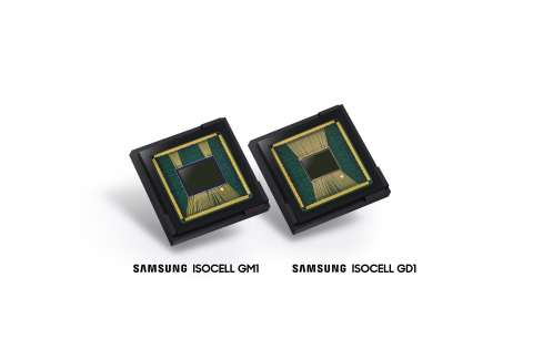 Samsung's new ISOCELL GM1 and GD1 image sensors (Photo: Business Wire)