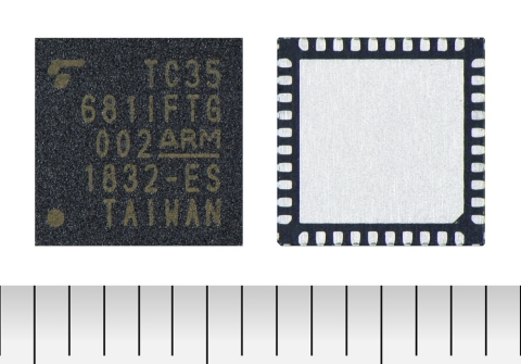 "Toshiba: ""TC35681IFTG,"" a new Bluetooth(R) 5 IC for automotive applications (Photo: Business Wire)"