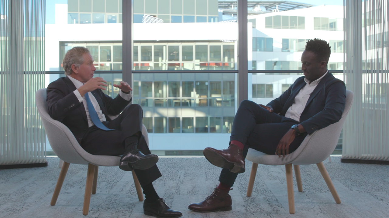 Jean Raby, CEO of Natixis Investment Managers, and broadcaster Ayo Akinwolere discuss the Natixis Investment Managers Summit, which will feature five former heads of state or government