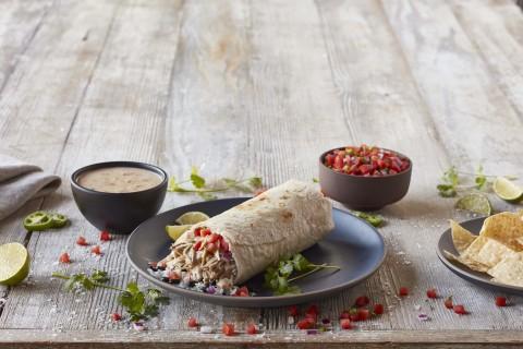 QDOBA's Pulled Pork & Queso Burrito (Photo: Business Wire)