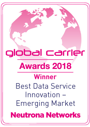 2018 Best Data Service Innovation - Emerging Markets.