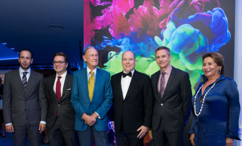 BOARD OF DIRECTORS FUTURUM ASSOCIATION with H.S.H Prince Albert II of Monaco and the artist Mark Maw ...