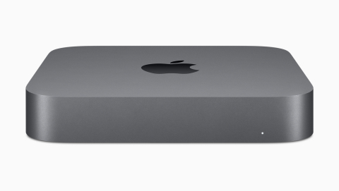 New Mac mini delivers an insane five times faster performance. (Photo: Business Wire)