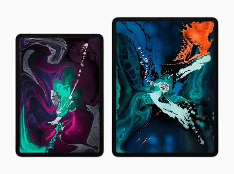 All-new designs push 11-inch and 12.9-inch Liquid Retina displays to the edges of iPad Pro. (Photo:  ...