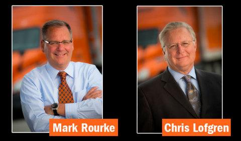 Chris Lofgren will retire in April 2019 as president and CEO of Schneider National, Inc. Mark Rourke ...