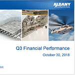 Albany International Reports Third-Quarter Results