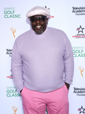 Cedric the Entertainer hosted the Television Academy Foundation's 19th Emmys Golf Classic, raising $335,000 to benefit the Foundation's renowned education programs, at the Wilshire Country Club on Monday, Oct. 29, 2018, in Los Angeles, California. (Photo by Vince Bucci/Invision for the Television Academy/AP Images)