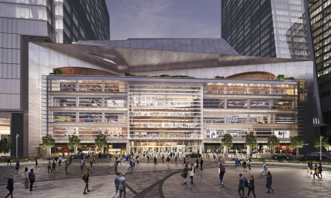 Visa Becomes the Official Payment Technology Partner of New York's Hudson Yards (Photo: Business Wire)