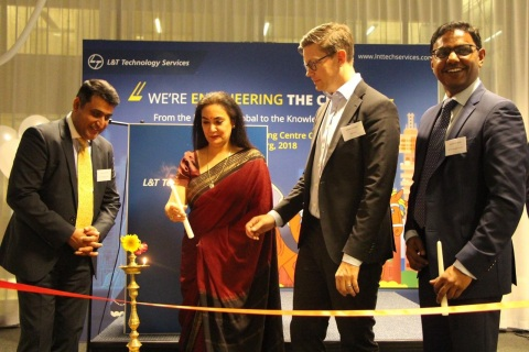 Official Opening of L&T Technology Services' Digital Engineering Centre in Gothenburg (Photo: Busine ...