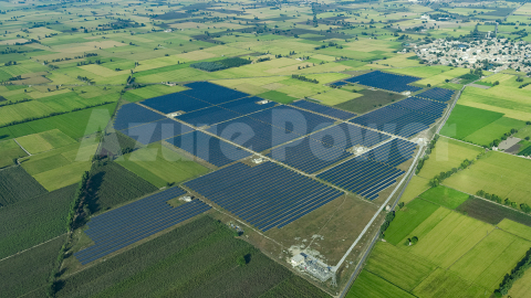 Azure Power Solar Power Plant (Photo: Business Wire)