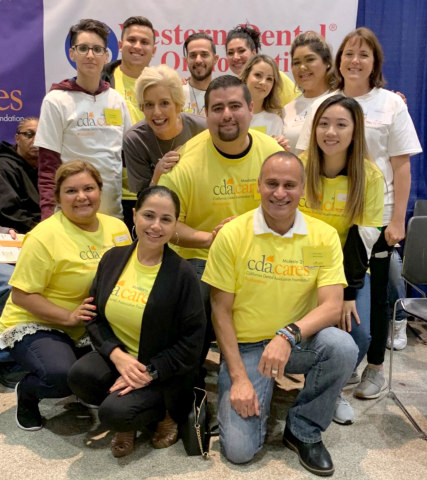 The Modesto CDA Cares outreach on October 26-27 was the 10th consecutive event that Western Dental has been proud to co-sponsor and provide volunteers from various offices and corporate headquarters playing key roles at the event. (Photo: Business Wire)