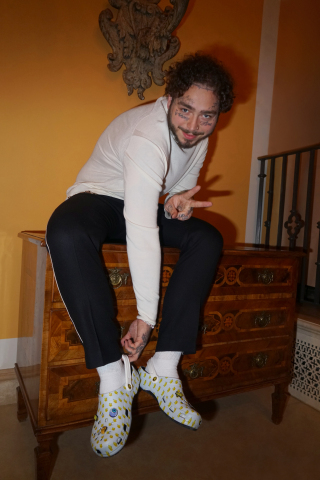 Post Malone x Crocs Dimitri Clog (Photo: Business Wire)