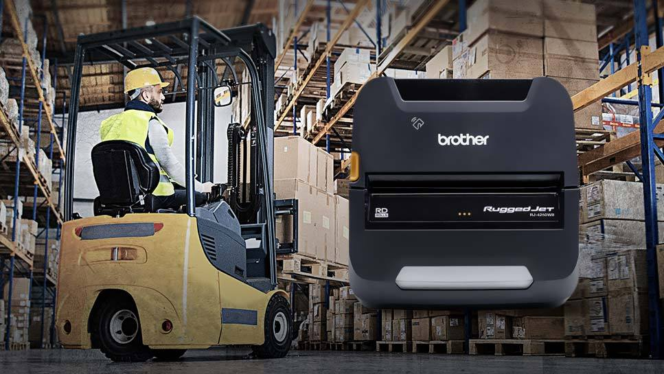 Wire Printers | Brother Expands Its Premier Portfolio Of Ruggedjet Mobile Printers