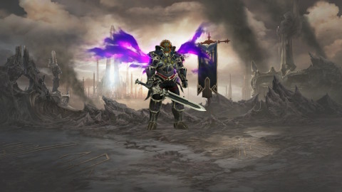 The Diablo III: Eternal Collection game will be available on Nov. 2. (Graphic: Business Wire)