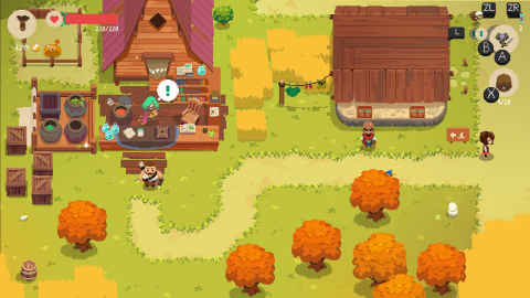 The Moonlighter game will be available on Nov. 5. (Graphic: Business Wire)