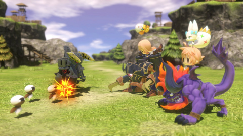 The WORLD OF FINAL FANTASY MAXIMA game will be available on Nov. 6. (Graphic: Business Wire)