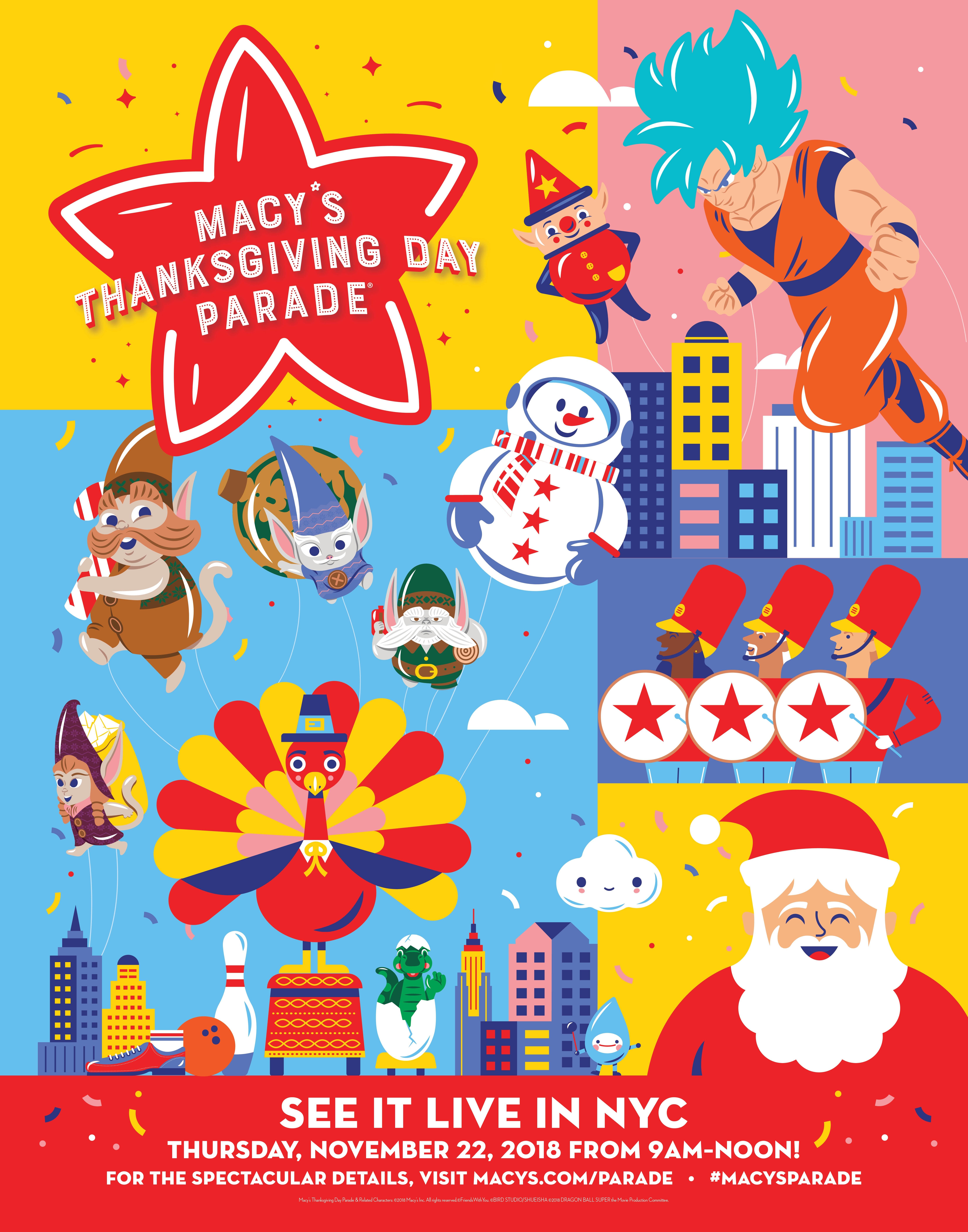 Macy S Thanksgiving Day Parade Kicks Off The Holiday Season Cnbnews