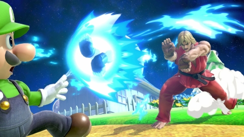 Hailing from the Street Fighter series, Ryu's rival Ken joins the Super Smash Bros. Ultimate roster as an echo fighter. This Ken is based on his appearance in Super Street Fighter II Turbo. While he has some similar moves to Ryu, Ken is a slightly faster fighter and has a different shaped Hadoken. (Graphic: Business Wire)