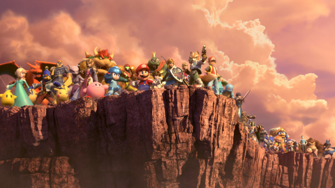 In the final Super Smash Bros. Ultimate Nintendo Direct video presentation before the game launches exclusively for the Nintendo Switch system on Dec. 7, Nintendo blew the lid off of many new modes, fighters and gameplay features of the massive video game crossover event, including details about upcoming DLC. (Graphic: Business Wire)