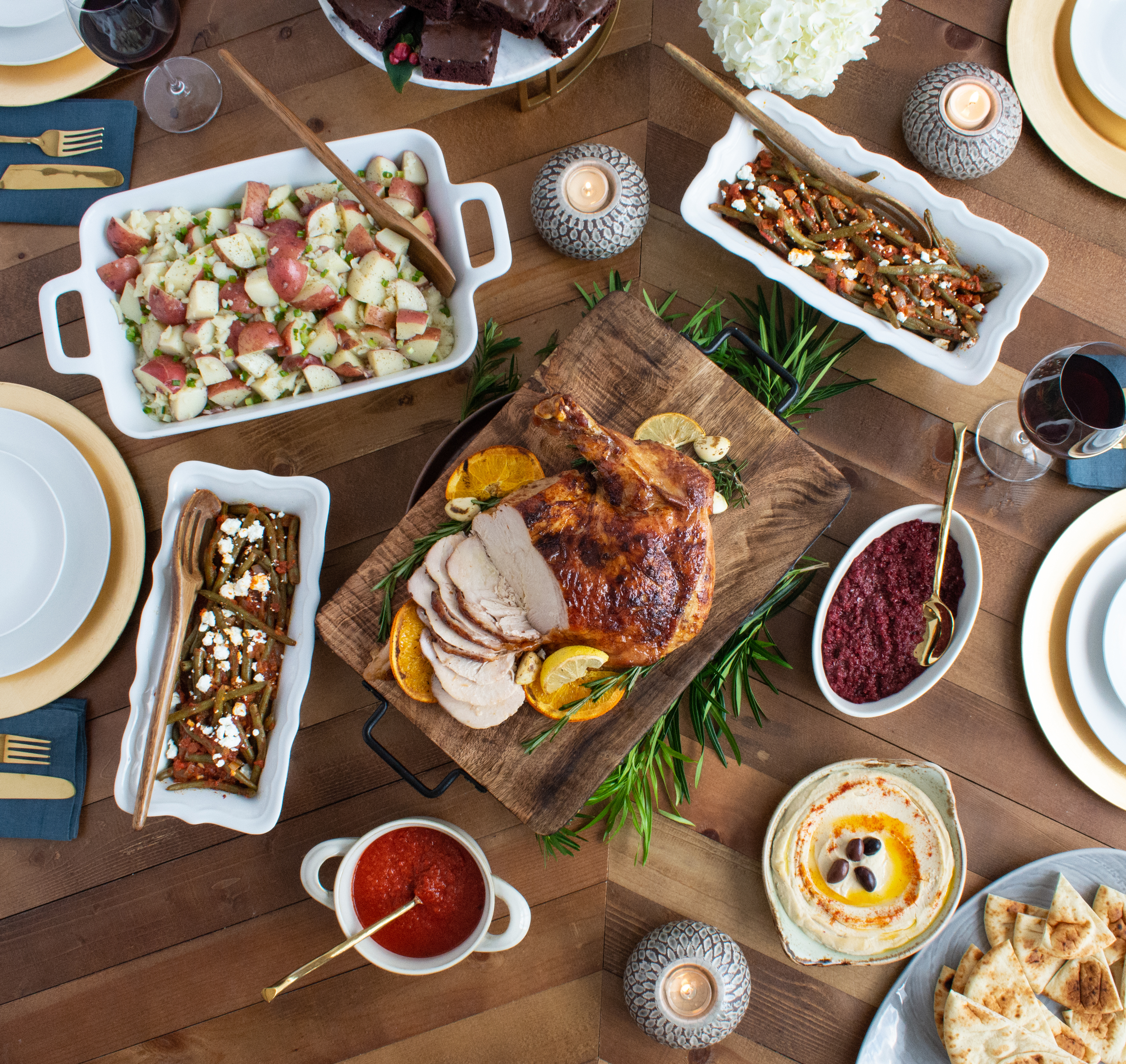 Zoes Kitchen Introduces Heat And Serve Turkey Dinners This