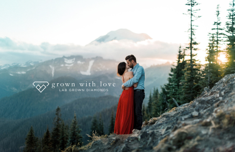 Grown With Love, Lab Grown Diamonds™ Campaign (Photo: Business Wire)