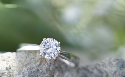 Grown With Love Lab Grown Diamonds™ Ring (Photo: Business Wire)