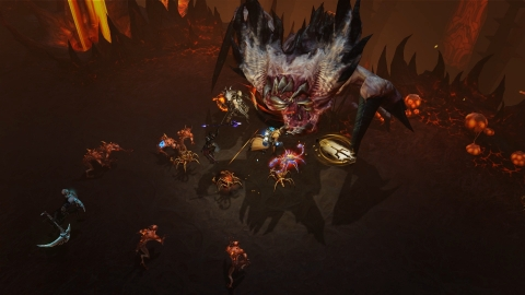 The transition from mouse-and-keyboard or controller to mobile touchscreen device was designed to feel completely natural, intuitive, and fun in Diablo Immortal. (Graphic: Business Wire)