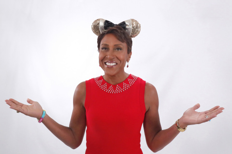 "Robin Roberts, co-anchor of ABC's ""Good Morning America,"" shares her ears. (Photo: Business Wire)"