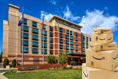 The Courtyard by Marriott Dulles Airport Herndon. (Photo: Business Wire)