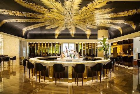Lobby bar at Hotel Sofia Barcelona (Photo: Business Wire)