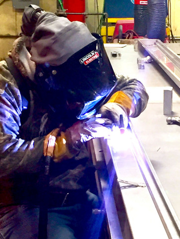 BLÜCHER stainless steel trench drains are now being produced in Fort Worth, Texas, for the North American market. (Photo: Business Wire)