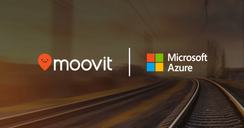 Moovit to Provide Public Transit Data for Microsoft Azure Maps (Graphic: Business Wire)